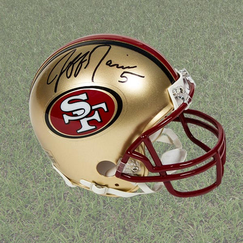 Jeff Garcia San Francisco 49ers Autographed Mini NFL Football Helmet