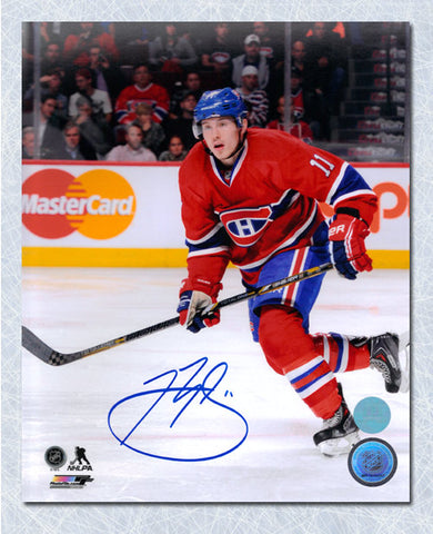 Josh Gorges Montreal Canadiens Autographed Action 8x10 Photo