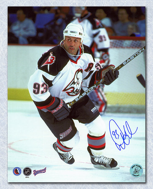 Doug Gilmour Buffalo Sabres Autographed Hockey 8x10 Photo