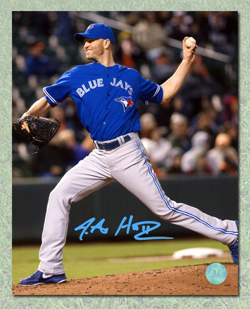 J.A. Happ Toronto Blue Jays Autographed Baseball Pitcher 8x10 Photo