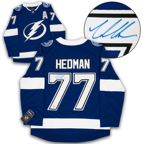 Victor Hedman Tampa Bay Lightning Signed Fanatics Hockey Jersey
