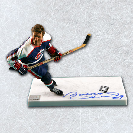 Bobby Hull Winnipeg Jets Autographed McFarlane Sports Picks Figure
