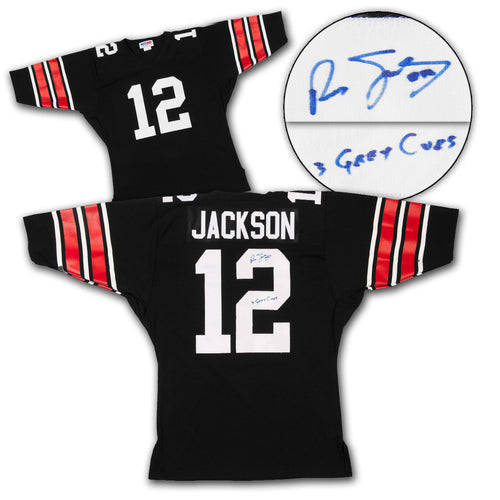 Russ Jackson Ottawa Roughriders Autographed Custom CFL Football Jersey