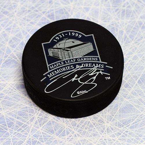 Curtis Joseph Toronto Maple Leafs Autographed Memories and Dreams Hockey Puck
