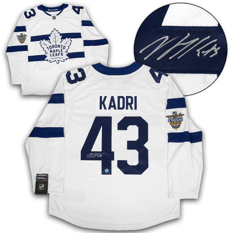 Mitch Marner Toronto Maple Leafs Autographed Adidas Authentic Hockey Jersey