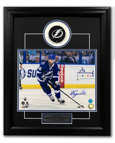 Steven Stamkos Tampa Bay Lighting Autographed Official Game Puck