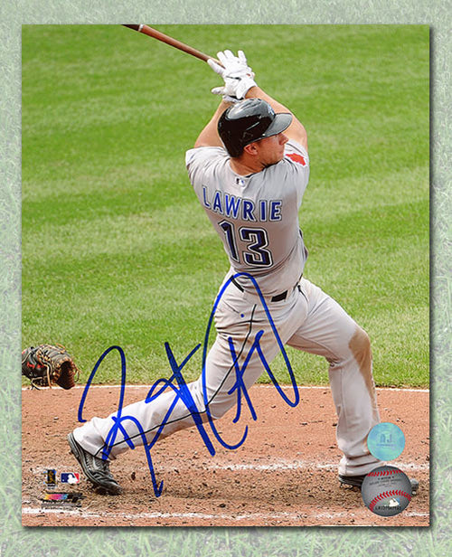 Brett Lawrie Toronto Blue Jays Autographed Rookie 8x10 Photo