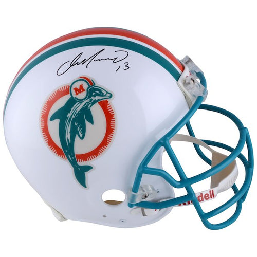 Dan Marino Miami Dolphins Signed Full Size Retro Replica NFL Football Helmet