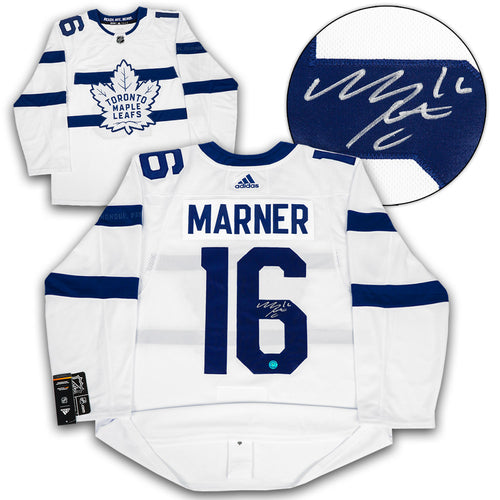 Mitch Marner Toronto Maple Leafs Signed Stadium Series Adidas Authentic Jersey