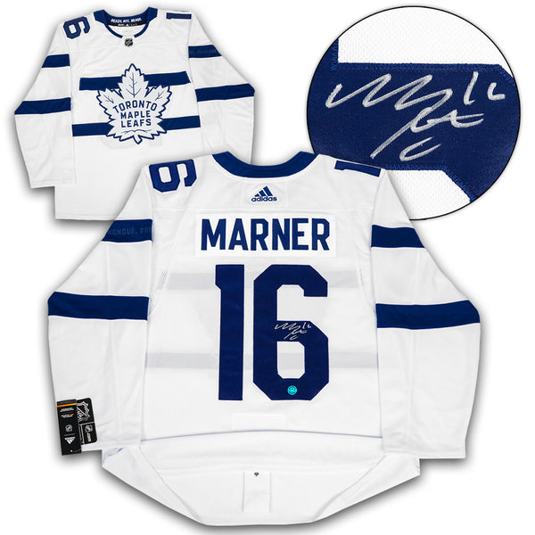 on sale c6a8f 3a70e Mitch Marner Toronto Maple Leafs Signed Stadium Series Adidas Authentic  Jersey