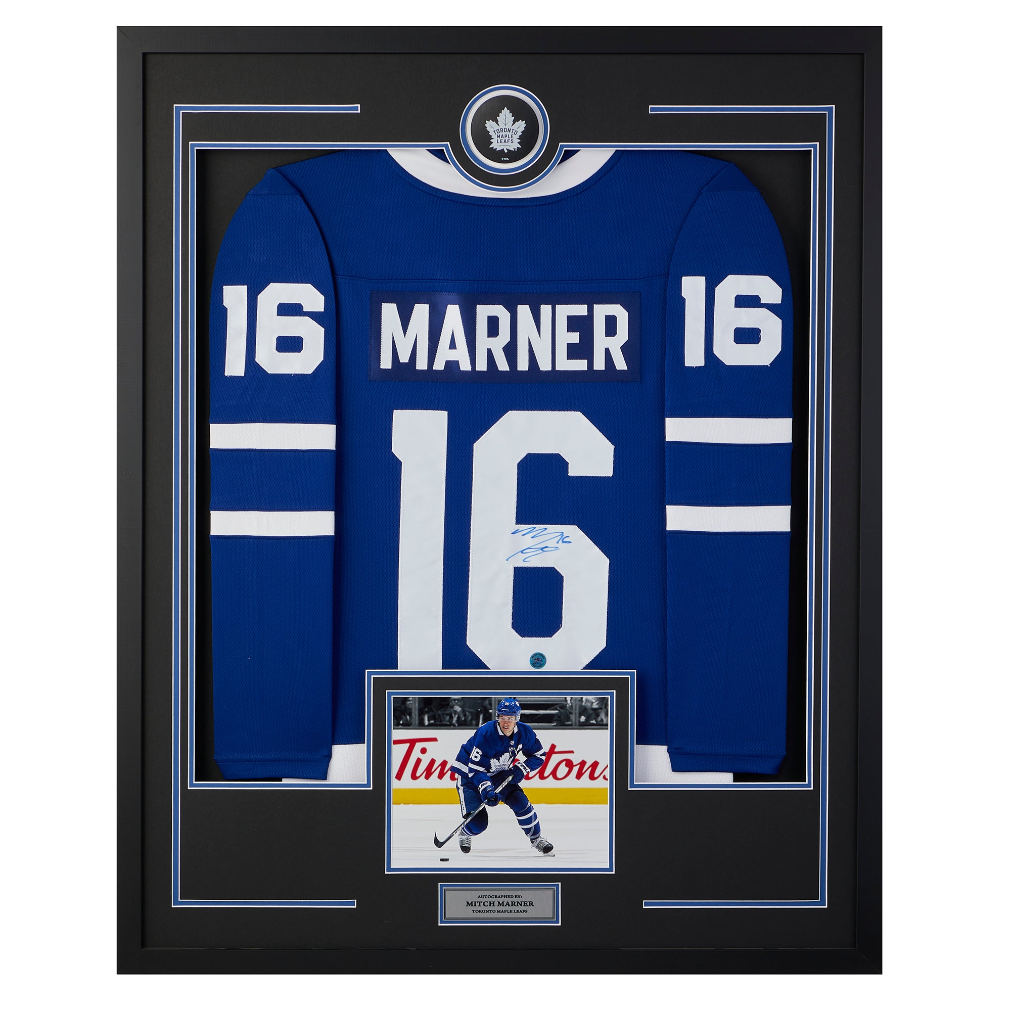 Mitch Marner Toronto Maple Leafs Signed & Dated 1st NHL Goal 35x43 ...
