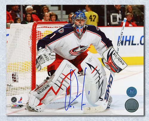 Steve Mason Columbus Blue Jackets Autographed 8x10 Photo