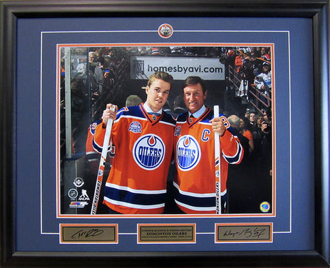 Taylor Hall Edmonton Oilers Autographed 1st Game 11x14 Photo