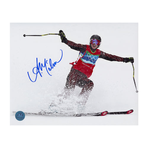 Ashleigh Mcivor Canada Autographed 2010 Olympic Gold Run 8x10 Photo