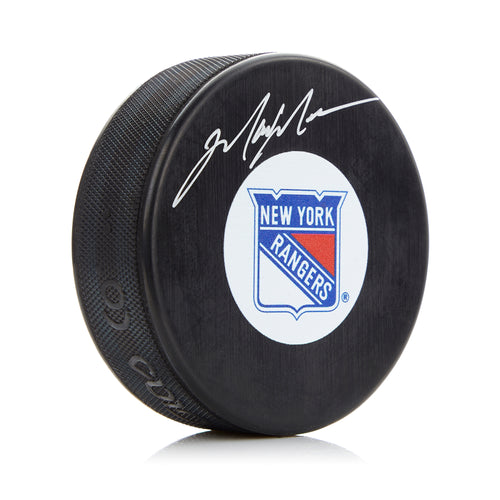 Mark Messier New York Rangers Autographed Hockey Puck