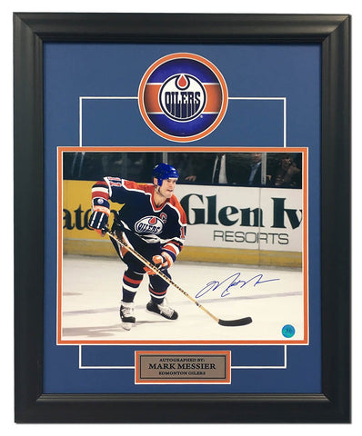 Mitch Marner Toronto Maple Leafs Signed NHL Debut 23x19 Puck Frame