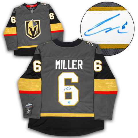 Colin Miller Vegas Golden Knights Autographed Inaugural Season 8x10 Photo