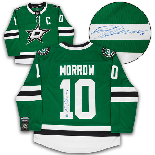 Brenden Morrow Dallas Stars Autographed Fanatics Replica Hockey Jersey