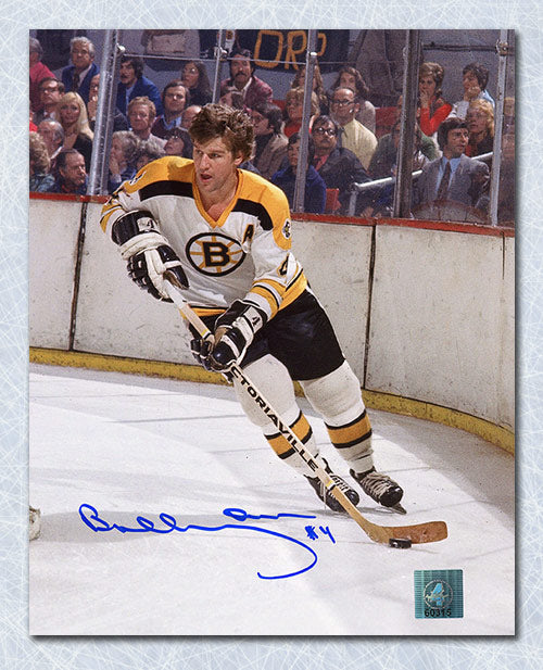 more photos 9e28f fc490 Bobby Orr Boston Bruins Autographed Boston Gardens Action 8x10 Photo: GNR  COA
