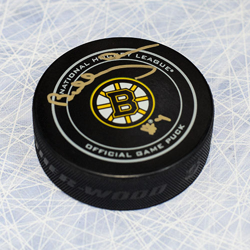 Bobby Orr Boston Bruins Autographed Official Game Hockey Puck: GNR COA
