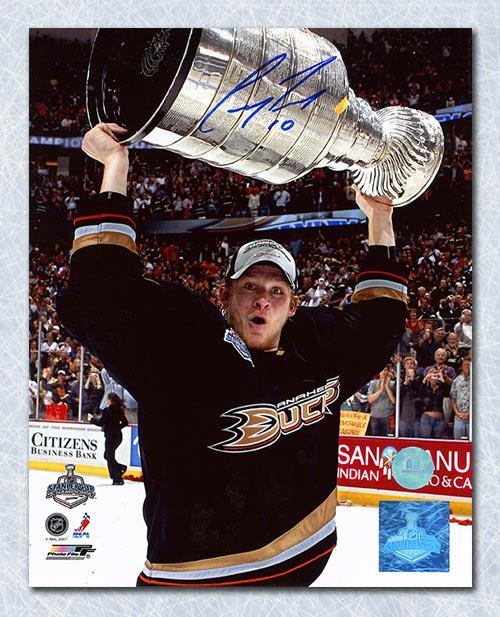 Corey Perry Anaheim Ducks Autographed 2007 Stanley Cup 8x10 Photo 257443bdf