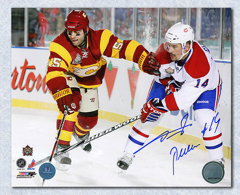 Brian Gionta Montreal Canadiens Autographed Goal Celebration 8x10 Photo