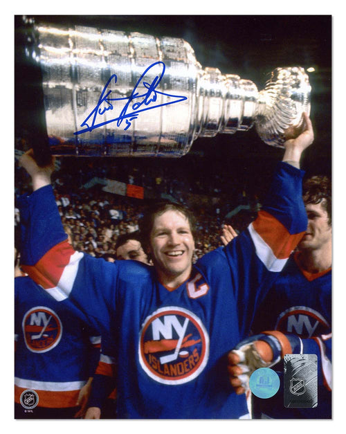 Denis Potvin New York Islanders Autographed Stanley Cup Champion 8x10 Photo