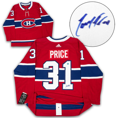 Carey Price Montreal Canadiens Autographed Adidas Authentic Hockey Jersey