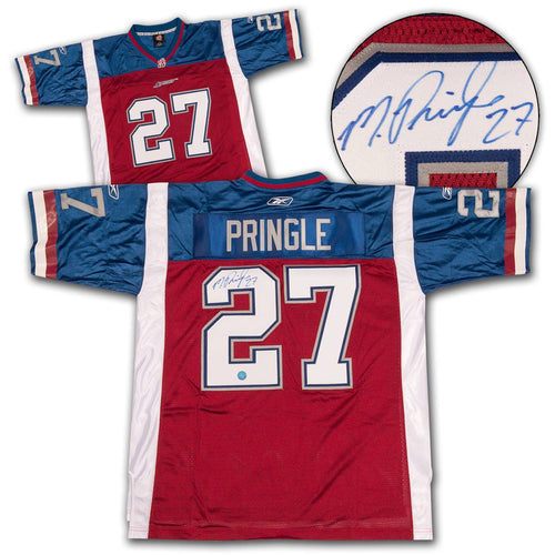 Mike Pringle Montreal Alouettes Autographed Custom CFL Football Jersey