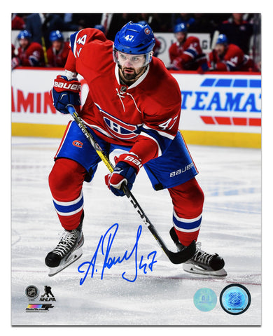 Brendan Gallagher Montreal Canadiens Autographed Game Action 8x10 Photo