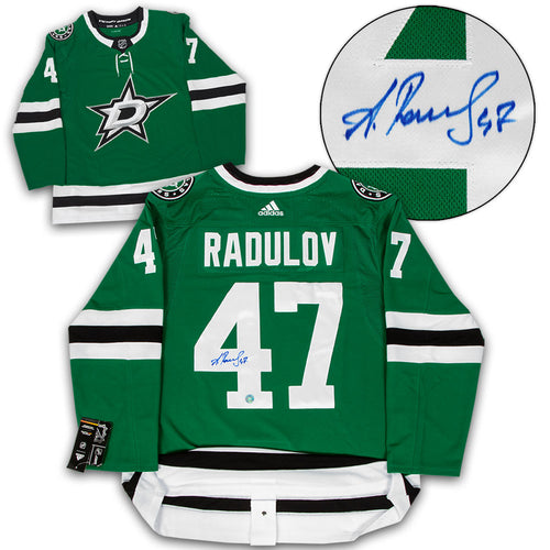 Alexander Radulov Dallas Stars Autographed Adidas Authentic Hockey Jersey