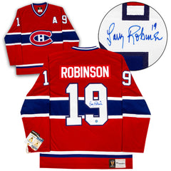 Larry Robinson Montreal Canadiens Autographed Fanatics Vintage Hockey Jersey