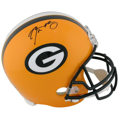 Aaron Rodgers Green Bay Packers Signed Full Size Replica NFL Football Helmet