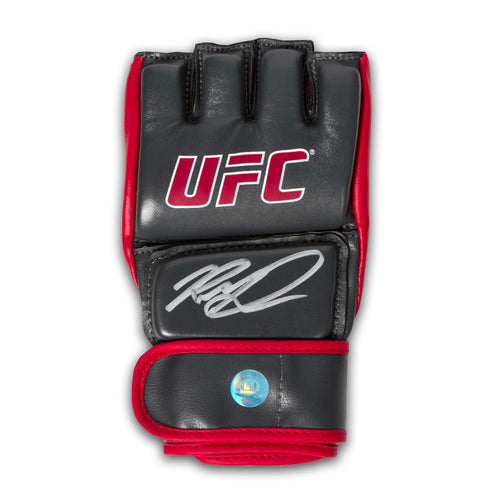 Rory MacDonald Autographed MMA Fight Official UFC Training Model Glove