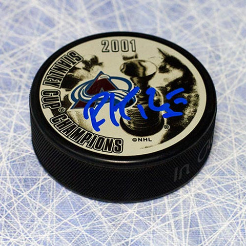 Jarome Iginla Colorado Avalanche Autographed Hockey Puck