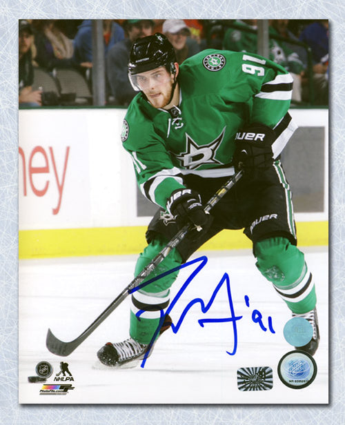Tyler Seguin Dallas Stars Autographed Hockey Action 8x10 Photo