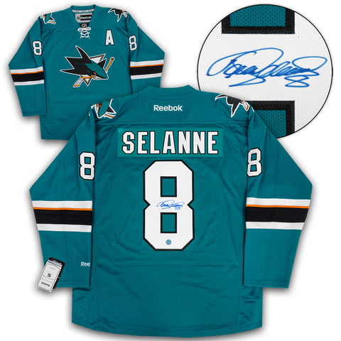 Joe Thornton San Jose Sharks Autographed White Fanatics Hockey Jersey