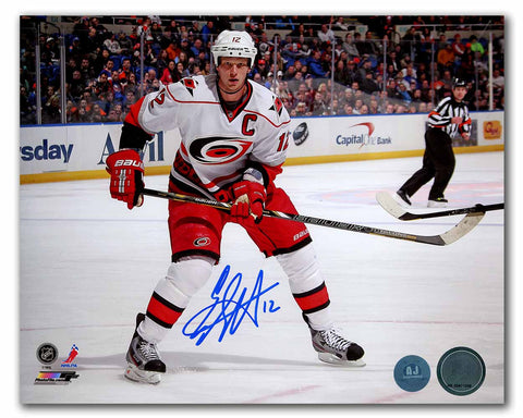 Eric Staal Carolina Hurricanes Autographed 2006 Stanley Cup 8x10 Photo