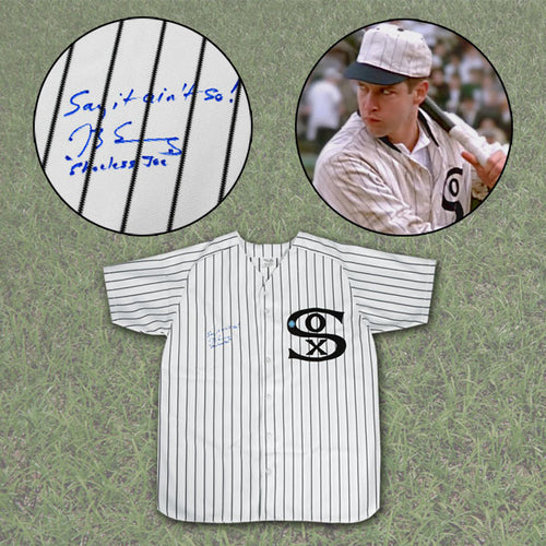 Eight Men Out Actor D.B. Sweeney Signed Joe Jackson Chicago White Sox Jersey