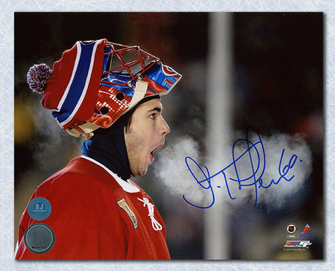 Brian Gionta Montreal Canadiens Autographed Captain Spotlight 8x10 Photo