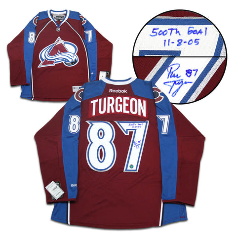 Tyson Barrie Colorado Avalanche Autographed Adidas Authentic Hockey Jersey