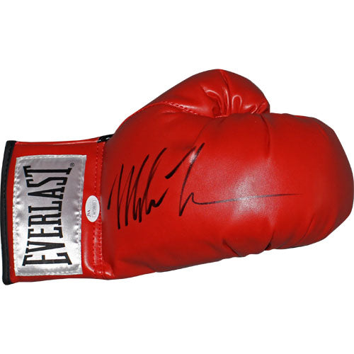 Mike Tyson Autographed Red Everlast Boxing Glove