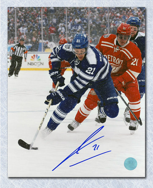James van Riemsdyk Toronto Maple Leafs Signed 2014 Winter Classic 8x10 Photo