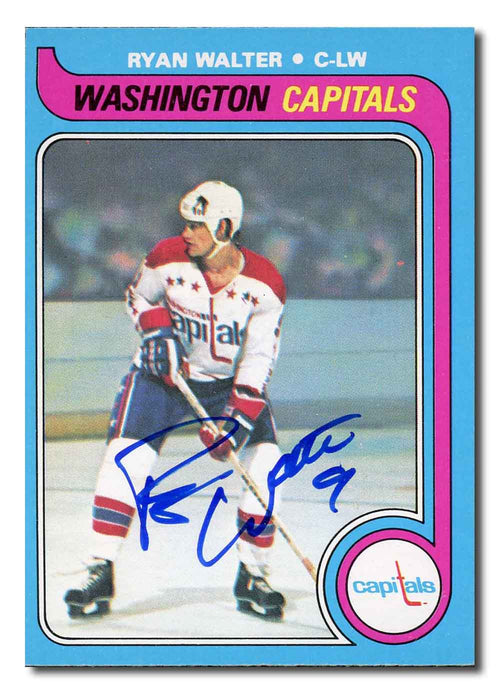 Ryan Walter Autographed 1979-80 O-Pee-Chee Rookie Card
