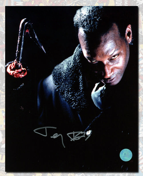 Tony Todd Autographed Candyman Scary Stare 8x10 Photo