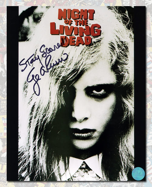 George Romero Autographed Night of the Living Dead Movie 8x10 Photo