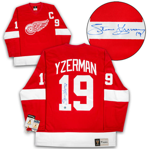 Steve Yzerman Detroit Red Wings Autographed 1984 Rookie All Star 8x10 Photo