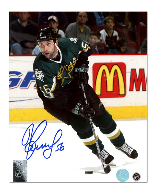 Sergei Zubov Dallas Stars Autographed NHL Hockey 8x10 Photo