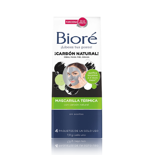 Mascarilla Termica con Carbon Natural