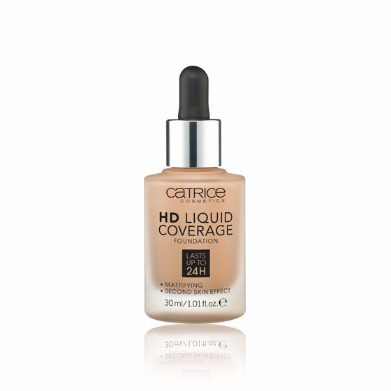 Base HD Liquid Coverage Foundation